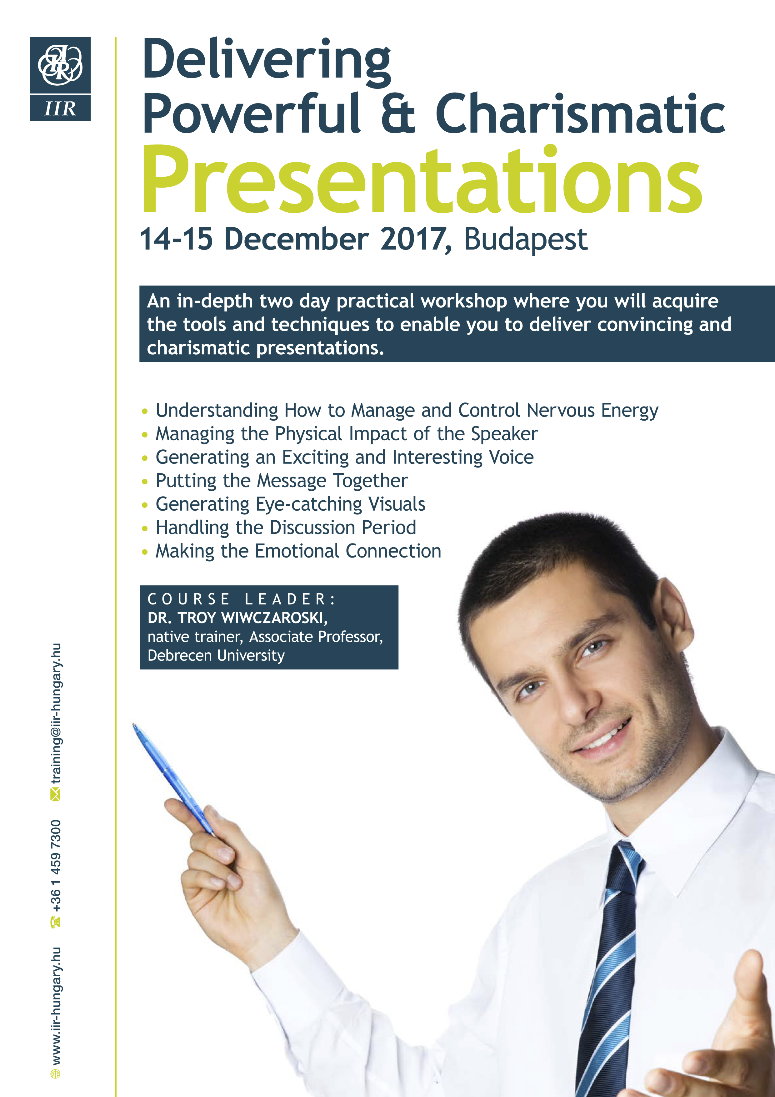 Delivering Powerful & Charismatic Presentations